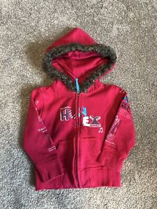 Girls Hurley hoodie size 24 months