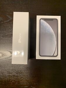 Brand new iPhone XR 128Gb White (unlocked)