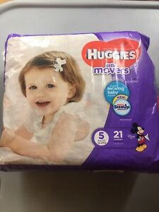 Huggies Diapers- Size 5