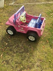 Barbie Jeep