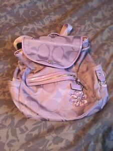 Coach Kyra Daisy Backpack (lilac)
