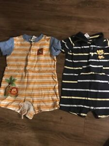 Baby boy rompers size 18 months