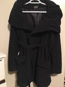 Gorgeous size small winter Thyme maternity coat, $75