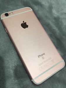 iPhone 6s 64gb rose gold FLAWLESS condition Headphones, pink