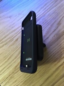 Mophie Qi Juice Pack Air + Wireless Qi Charge Force Vent Mount