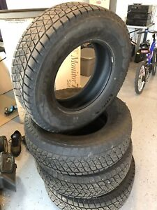 "17"" Bridgestone Blizzak winter tires (4)"