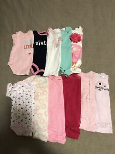 Baby girl 3-6 months clothes