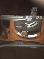 Looking for someone to fix my Ridgid Table Saw