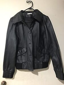 Leather Jacket Engadine Sutherland Area Preview