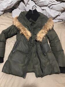 Mackage ADALI army green winter jacket/manteau