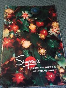 Christmas catalogue Simpsons 1961