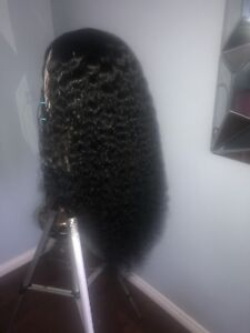 26 inch curly wig