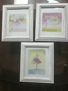 Three Framed Felicity Wishes Prints