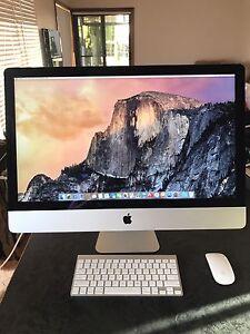 "Apple iMac 'core i5' 3.5 27"" late 2014 model Happy Valley Morphett Vale Area Preview"