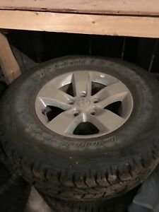 2012 Ram 1500 rims and tires
