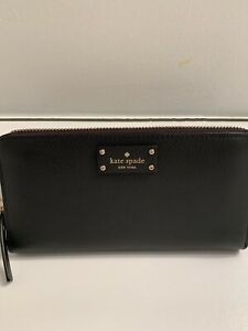 BNWTS-KATE SPADE SINGLE ZIP GROVE STREET WALLET