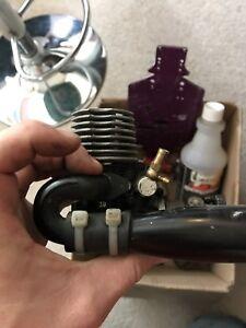 Hpi nitro 3.0 motor and extras