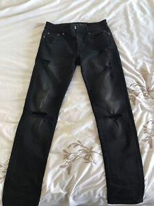 American Eagle Slim Black Jeans 30/30