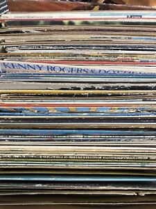 Huge lot of Antique Records & Stand Lot