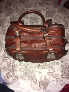 Handbag B Makowsky  croc like new