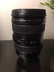 Canon 24-105mm F/4 L series IS lens