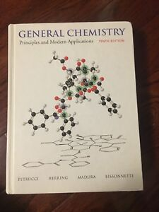 General chemistry 11th edition textbook + solution manual