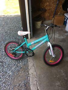 Like new girls bicycle
