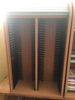 DVD shelving