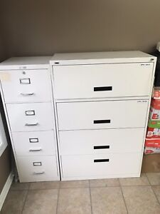 2 office filling cabinets sold separately or together