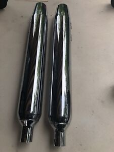 2014 Harley Exhaust Pipes