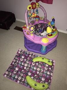 Activity Play mat then grows to Exersaucer