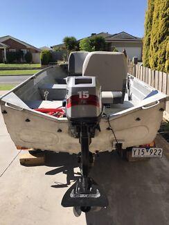 Savage Aluminium tinny boat