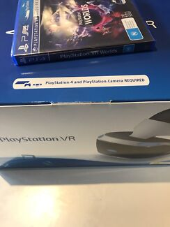 playstaion VR with game brand new