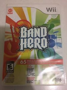 Band Hero For Nintendo Wii