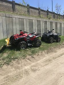 2 Quads to trade for a boat