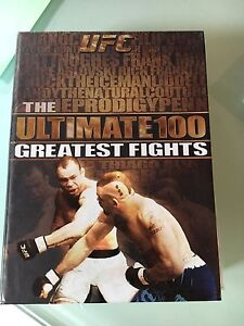 UFC greatest hits DVD collection
