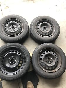 4 Rims perfect for snow tires