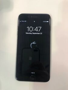 Telus IPHONE 8 plus 64g, space grey