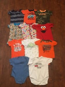 Boys 12month rompers novelty onesies