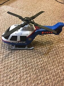 Police helicopter toy