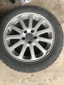 Dunlop tires with rims
