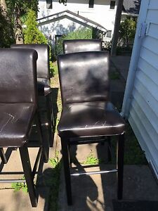 4 bar stool chairs