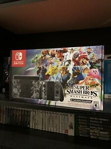 Nintendo Switch - Smash Bros Ultimate Edition