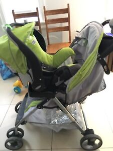 Evenflo stroller with car seat