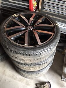 Jetta GLI OEM Wheel Set with Tires