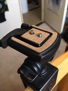 Tripod clamp mount head for DSLR