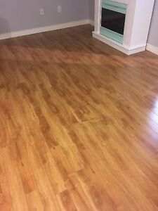 240 square feet of laminate flooring