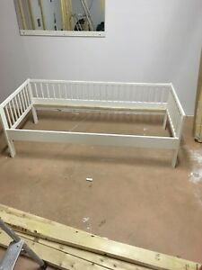 Toddlers Bed with Mattress and safety rail