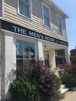 Barber wanted : The Men's Room