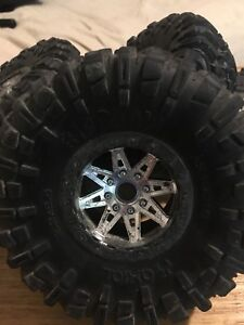 Rc 2.2 ripsaw wheels and tires